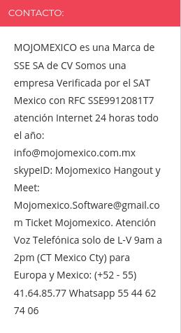 mojomexico company