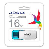 MEMORIA ADATA 16GB USB 2.0 UV240 BLANCO