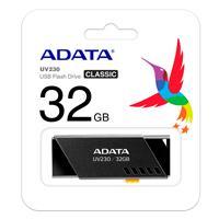 MEMORIA ADATA 32GB USB 2.0 UV230 NEGRO