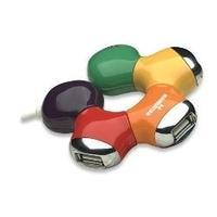 HUB USB V2.0 4 PUERTOS MANHATTAN MULTICO