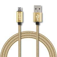 CABLE MICRO USB FORRO METALICO GHIA 1.0