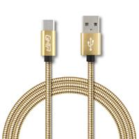 CABLE TIPO C FORRO METALICO GHIA 1.0 MTS