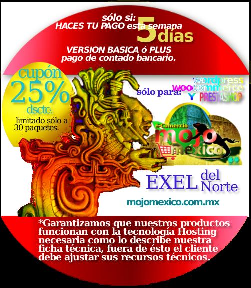 Conexion ExeldelNorte tienda Web
